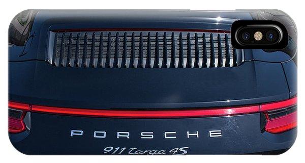 Porsche 911 Targa 4s IPhone Case