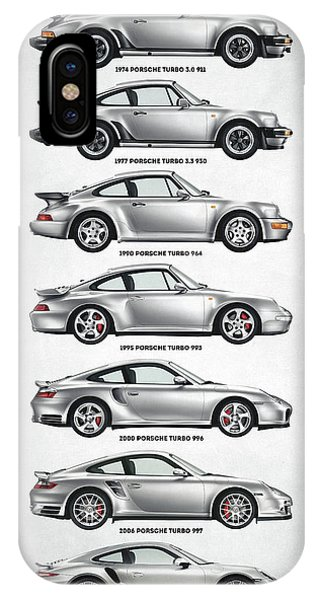 Porsche 911 Turbo Evolution IPhone Case