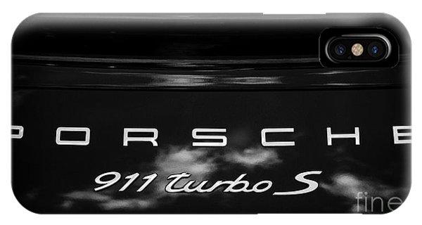 Porsche 911 Turbo S IPhone Case