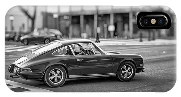 IPhone Case featuring the photograph Porsche 911e by Howard Salmon