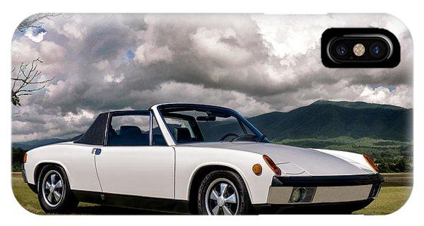 Germany iPhone Case - Porsche 914 by Douglas Pittman