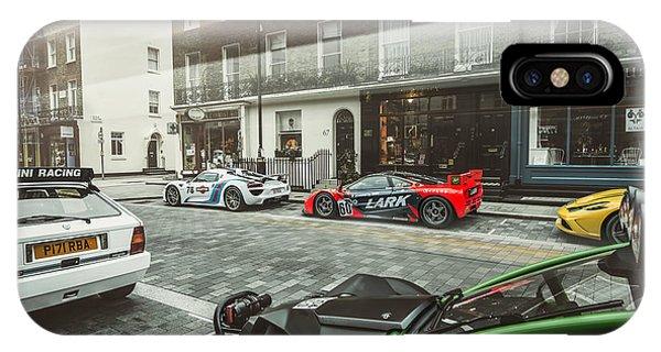 Porsche 918 Mclaren F1 Gtr Ferrari Specialea Ariel Nomad And Lancia Delta Integrale IPhone Case