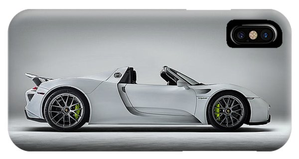 Car iPhone X Case - Porsche 918 Spyder by Douglas Pittman