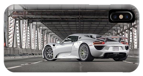 Porsche 918 Spyder IPhone Case