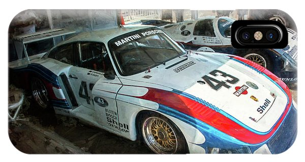 Porsche 935 Moby Dick IPhone Case