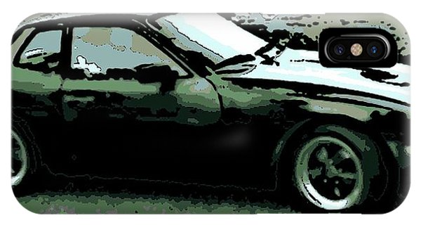 Porsche 944 On A Hot Afternoon IPhone Case
