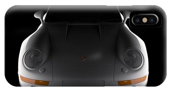 Porsche 959 - Front View IPhone Case