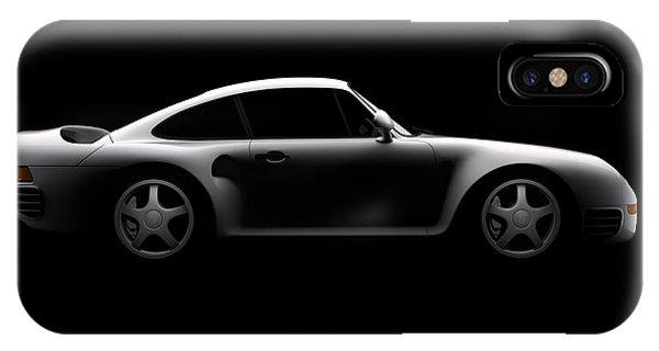 Porsche 959 - Side View IPhone Case