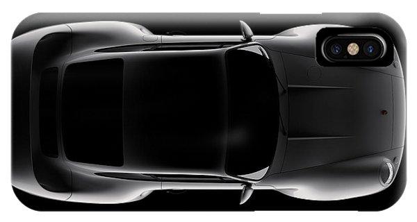 Porsche 959 - Top View IPhone Case