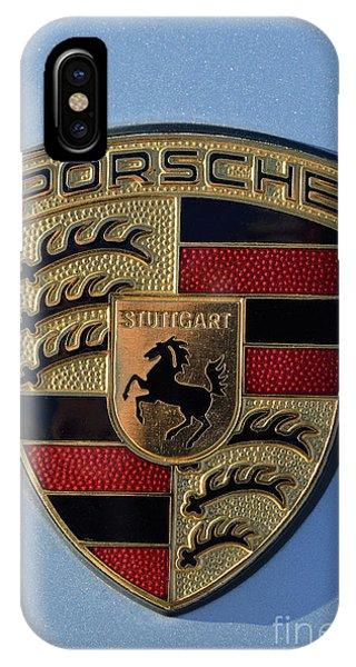 Porsche Badge IPhone Case