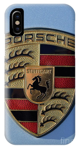 Porsche Badge IPhone Case
