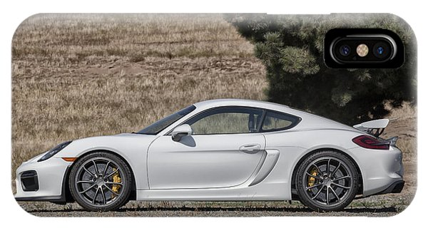 Porsche Cayman Gt4 Side Profile IPhone Case