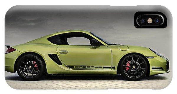 Germany iPhone Case - Porsche Cayman R by Douglas Pittman