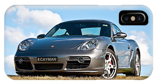 Porsche Cayman IPhone Case