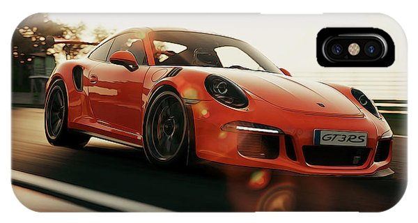 Porsche Gt3 Rs - 4 IPhone Case