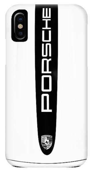 Porsche Monochrome  IPhone Case