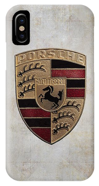 Porsche Shield IPhone Case