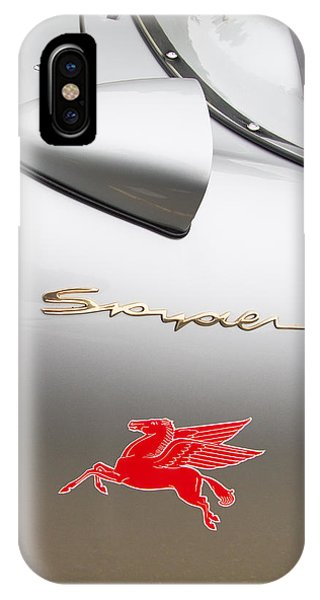 Porsche Spyder And The Flying Red Horse IPhone Case