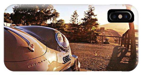 Porsche Sundown IPhone Case