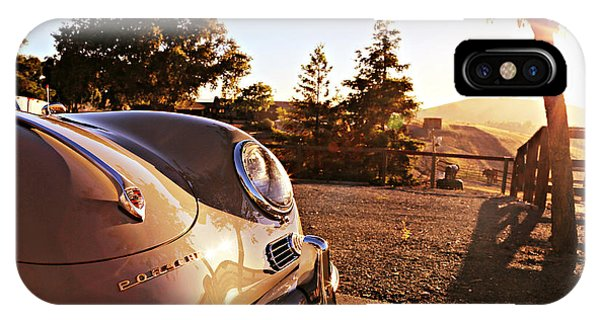 Porsche Sundown IPhone Case