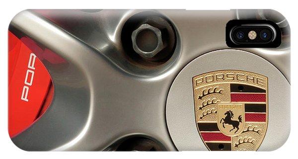 Porsche Wheel Detail #1 IPhone Case