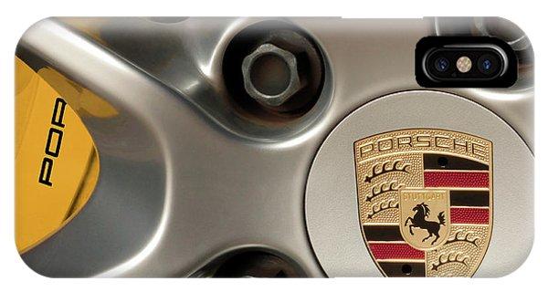 Porsche Wheel Detail #2 IPhone Case