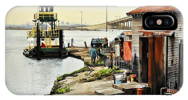 Port Aransas Ways IPhone Case