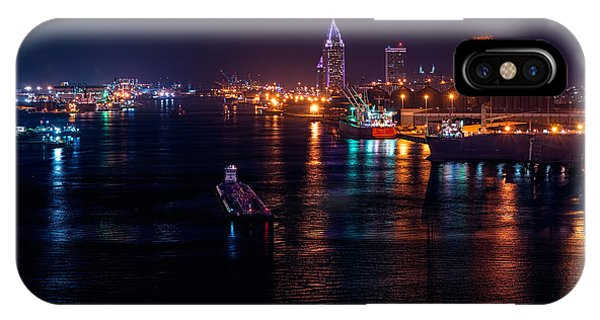 Port City Purple IPhone Case