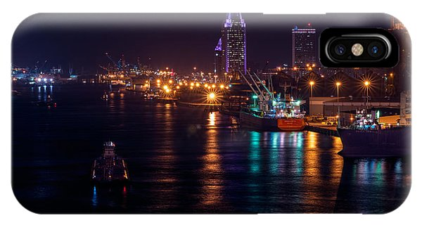Port City Purple Closer IPhone Case