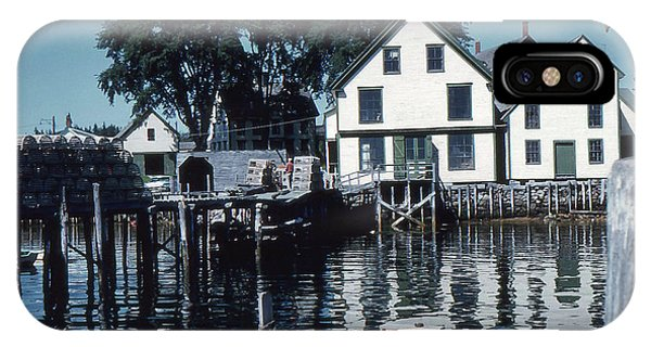 Port Clyde Maine IPhone Case