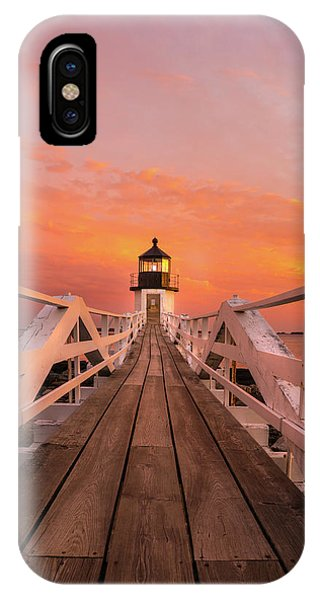 IPhone Case featuring the photograph Port Clyde Maine - Marshall Point by Expressive Landscapes Fine Art Photography by Thom