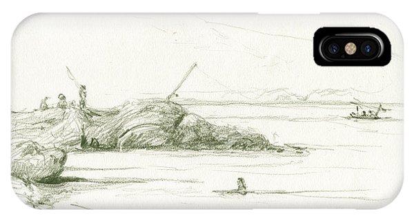 Fishing Boat iPhone Case - Port De La Selva by Juan Bosco
