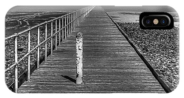 Port Germein Long Jetty IPhone Case