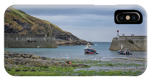English Village iPhone Case - Port Issac by Martin Newman