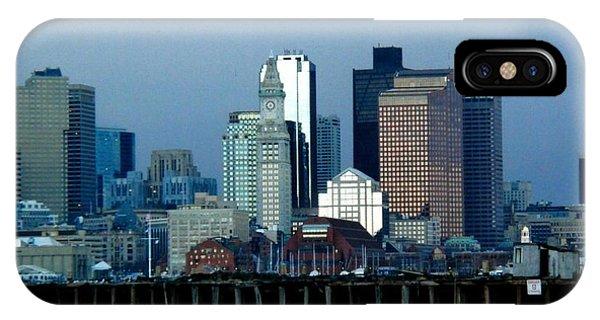Port Of Boston IPhone Case
