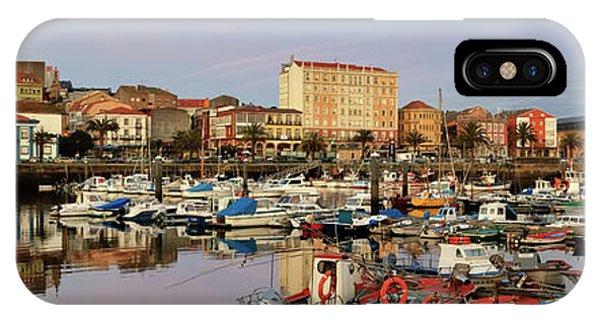 Port Of Ferrol Galicia Spain IPhone Case