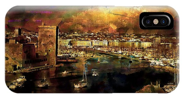 The Old Port Of Marseille IPhone Case
