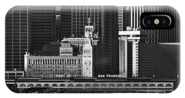 Port Of San Francisco IPhone Case