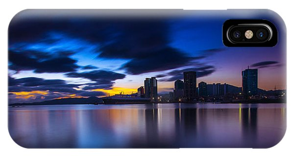 Port Of Spain New Sky Line  IPhone Case