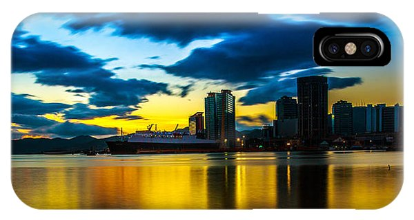 Port Of Spain Reflections  IPhone Case