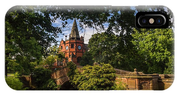 Port Sunlight Village In Summer IPhone Case