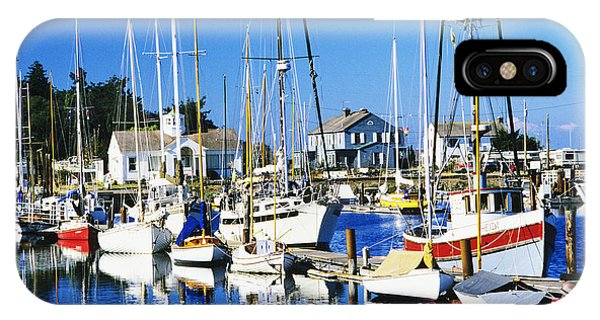 Port Townsend iPhone Case - Port Townsend Harbor by Peter French - Printscapes