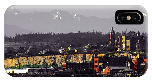 Port Townsend iPhone Case - Port Townsend Washington by Craig Perry-Ollila