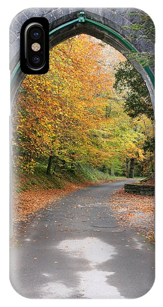 Portal To The Colorful Autumn Season Phone Case by Pierre Leclerc Photography