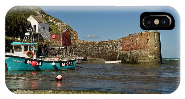 Porthgain In Wales IPhone Case