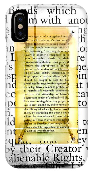 Portion Of The Declaration IPhone Case