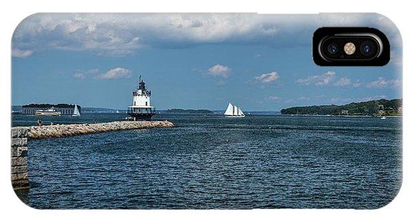 Portland Harbor, Maine IPhone Case
