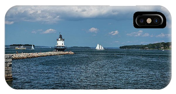 Portland Harbor, Maine IPhone Case