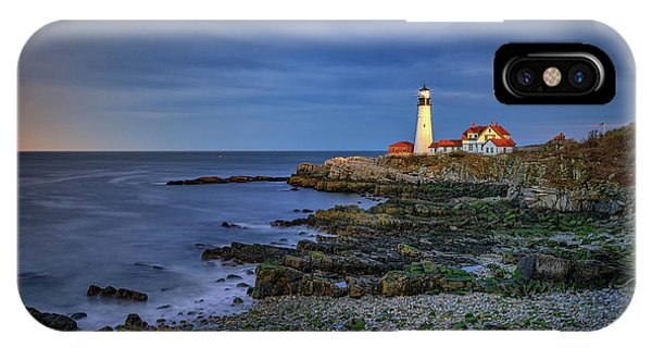 Portland Head Aglow IPhone Case