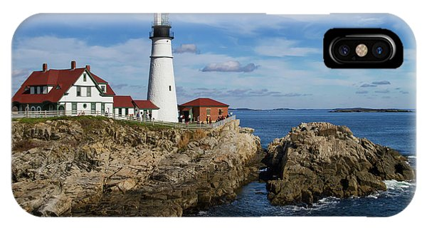 Portland Head Light IPhone Case